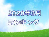 青空文庫2020年3月ランキング